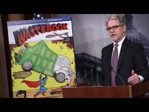 Tom Coburn lists Obamacare, shutdown costs in 'Waste...