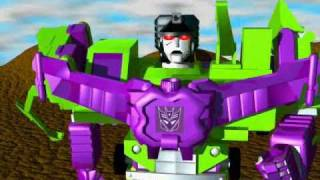 Transformers G1 Devastator 3D Animation