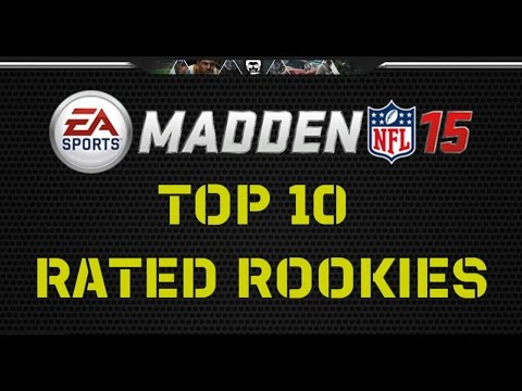 Madden 15 Top 10 Rated Rookies