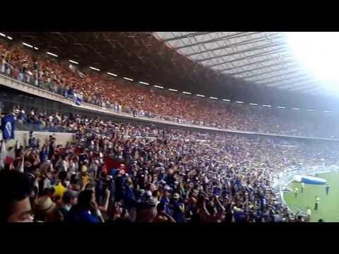 Hino do Cruzeiro   Torcida Cruzeiro x Gremio 2013 FINAL