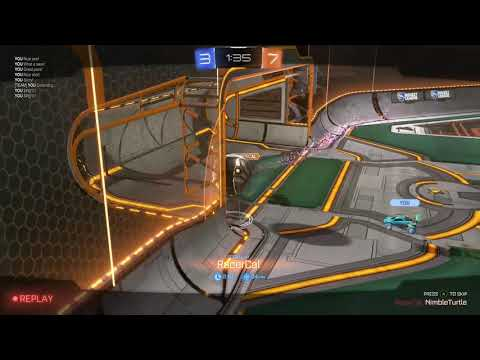 Rocket League - Ruined by my opponents mathematics skills.