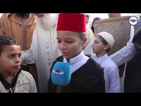 بعد انحباس المطر..أطفال يشاركون في صلاة الإستسقاء من مسجد الحسن الثاني
