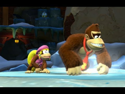 Donkey Kong Country Tropical Freeze 100% Walkthrough - World 5-Boss & 5-K (All Puzzle Pieces)