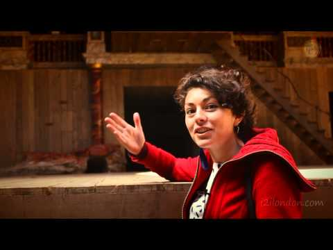 Video walking tour guide to the Shakespeare's Globe Theatre London