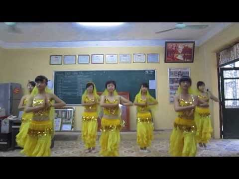 Múa Ấn Độ bài Made In India trường thpt Thuận Thành số 1
