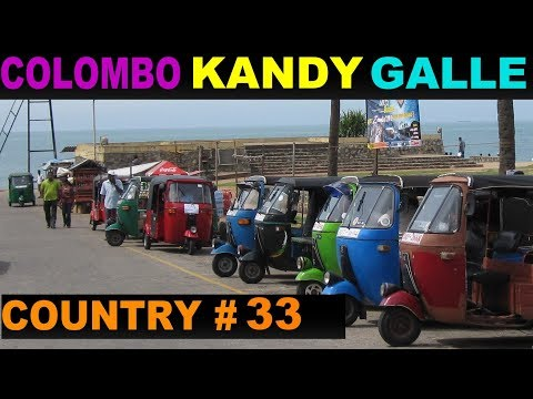 A Tourist's Guide to Colombo, Kandy & Galle, Sri Lanka