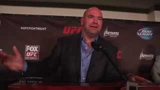 UFC on FOX 11: Dana White Post-Fight Media Scrum
