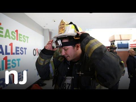 Fight for Air Climb charity run in Newark