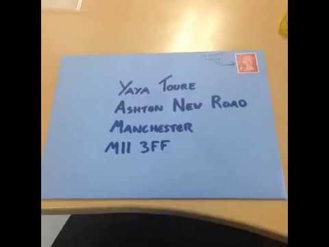 Moh sends Yaya Toure a Birthday Card