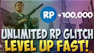 "GTA 5 ONLINE : ""UNLIMITED RP GLITCH"" AFTER PATCH 1.10"