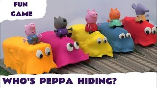 Peppa Pig Play Doh Covered Thomas The Train Toy Trains