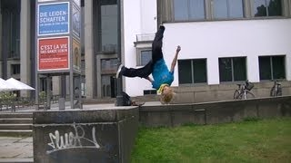 Rudi 9 Years Old Parkour & Freerunning Dresden