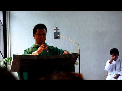 Speech of Father Ron Sandoval about Linggo ng Kultura at Wika ng Pilipinas at Austria 2