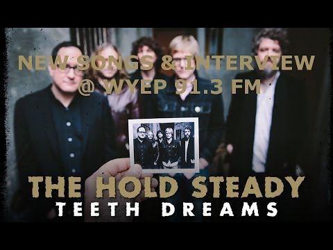 The Hold Steady Live @ WYEP 91.3 FM (NEW SONGS & Interview!)