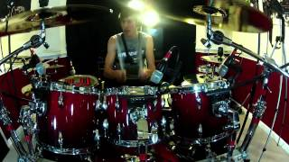 Drum Cover Improv Drum Solo Drumming With Fire