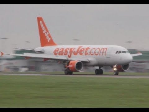 Smooth and quiet landing | Easyjet London Stansted airport | Мягкая посадка