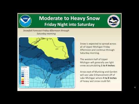 More hazardous winter weather forecast in Michigan
