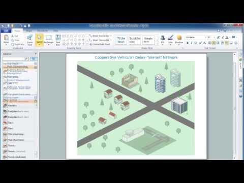 Create Vehicular Network Diagrams