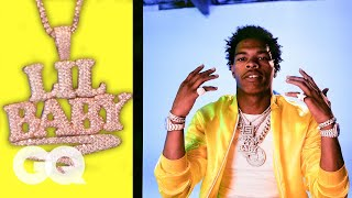 Lil Baby Shows Off His Insane Jewelry Collection | On the Rocks | GQ