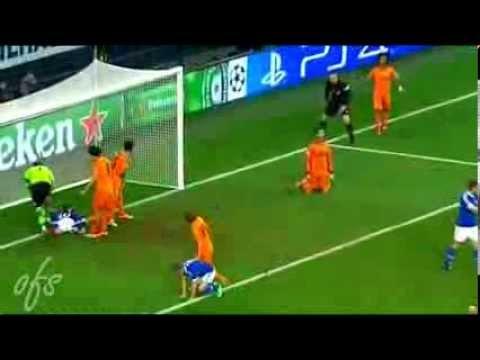 Grand PARADE Iker CASILLAS ~ Schalke 04 vs Real Madrid 1-6  26-02-2014