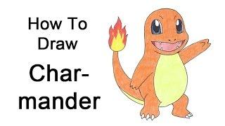 How To Draw Charmander (Pokemon)