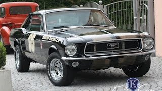 1964 1965 1967 1968 1969 Ford Mustang - Classic Car Design - www.classiccardesign.de videos