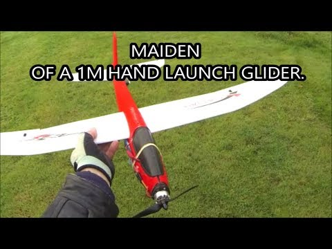 Funny Farm. On the flight line and a 1m toy glider maiden 20 10 19