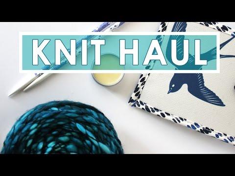 My Knitting Haul   Stitches West 2017