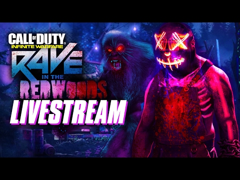 Zombies Rave in the Redwoods with Infinity Ward - Call of Duty: Infinite Warfare Livestream