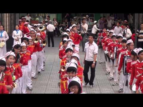 Giáo xứ Phú Trung - Kèn chào mừng phái đoàn Giám mục Á Châu,4 giờ 30
