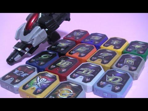 파워레인저 엔진포스 엔진소울 라이플 장난감 Power Rangers RPM Morph Toys