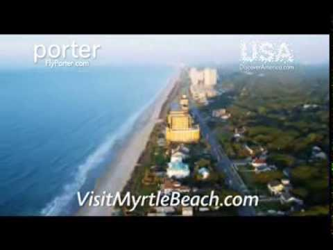Direct Flights on Porter For a Myrtle Beach Getaway