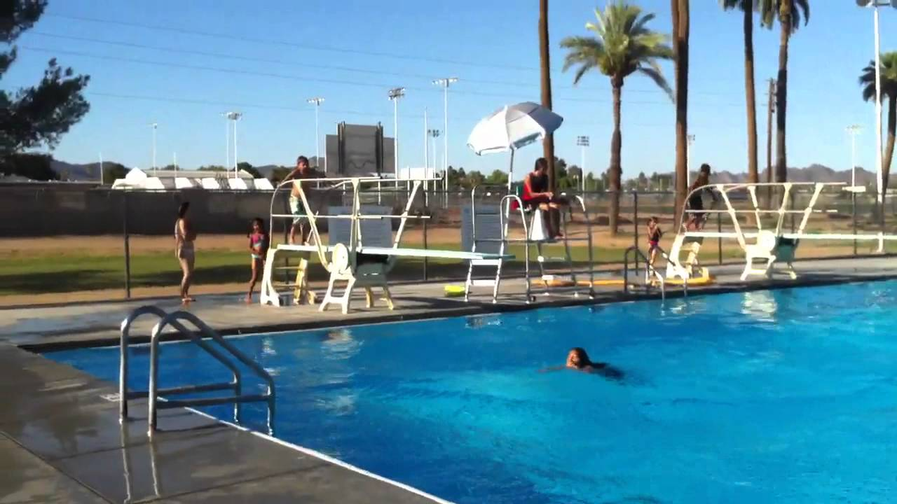Diving Board Fun At Washington Park And Pool Youtube