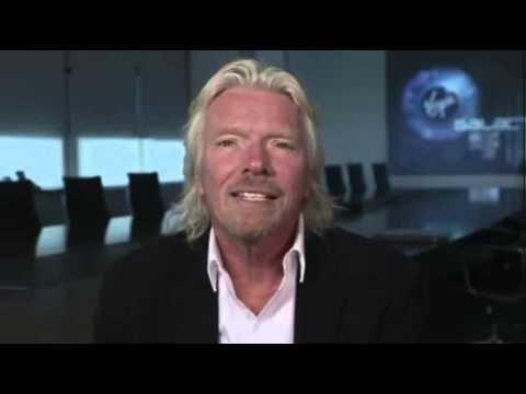 Richard Branson calls Space Virgin Territory