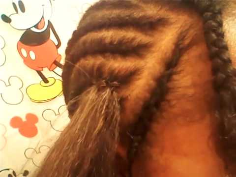 For Beginners: How To Crochet Braid (Kanekalon Hair) - YouTube