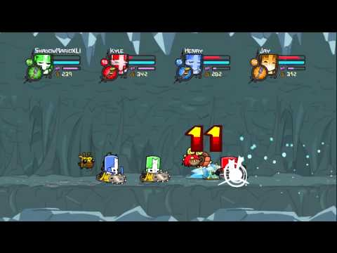 Let's Play Castle Crashers [4-Player] #13 - Icy Conditions Ahead!