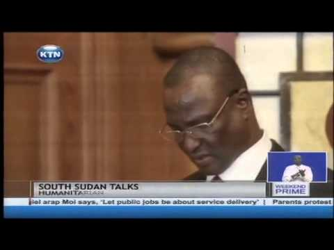 First real peace talks for South Sudan begin in Addis Ababa