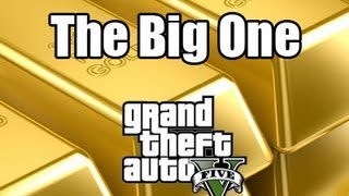 GTA-V Gold Bar Heist!! $180,000,000 Take!!