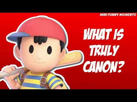 What is TRULY Canon? | Smash Ultimate Funny Moments
