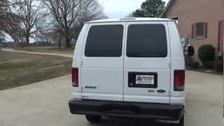 2009 FORD E150 ECONOLINE CARGO VAN FOR SALE SEE WWW SUNSETMILAN COM videos