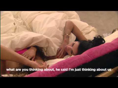 Lee Ryan eavesdrops on Jasmine Waltz: Day 7, Celebrity Big Brother