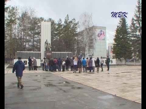 Торжественный митинг, посвященный Международному дню освобождения узников нацистских концлагерей, состоялся в Искитиме