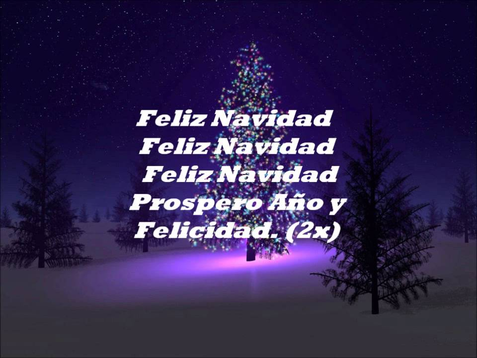 ... - Feliz Navidad (I Wanna Wish You A Merry Christmas) [HD] - YouTube