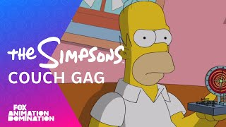 Simpsons: Don Hertzfeldt's Clown In The Dumps Couch Gag