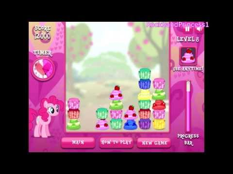 My Little Pony Pinkie Pie's Cupcake Maker Game - Full Online Game To Play in English