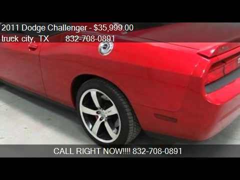 2011 Dodge Challenger SRT-8 Coupe - for sale in houston, TX
