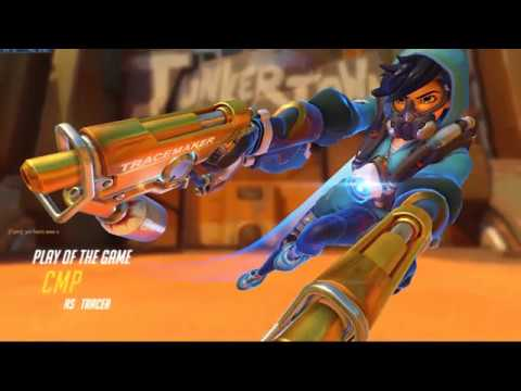 Overwatch - Tracer's booty