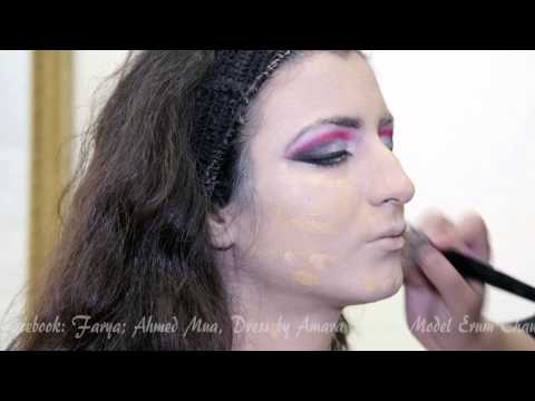 Bridal makeover by faryal