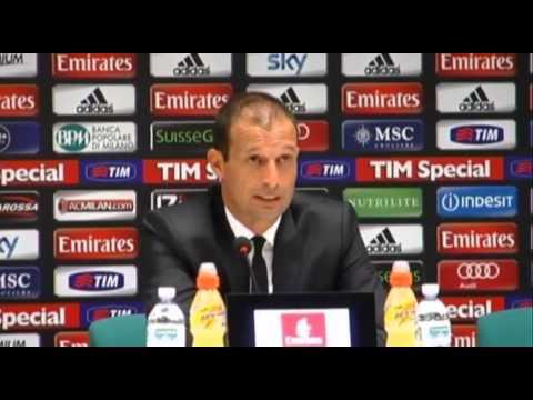 Allegri über den Kaka-Transfer und den Boateng-Ersatz | AC Milan