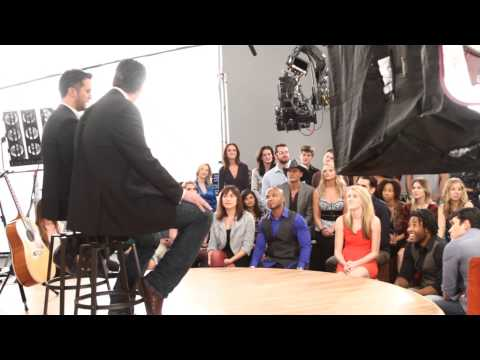 Behind the Scenes with Blake Shelton & Luke Bryan - 2014 ACM Awards Promo Shoot